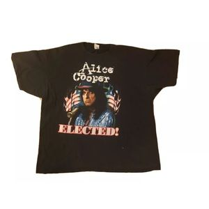 Alice cooper elected t shirt size xl